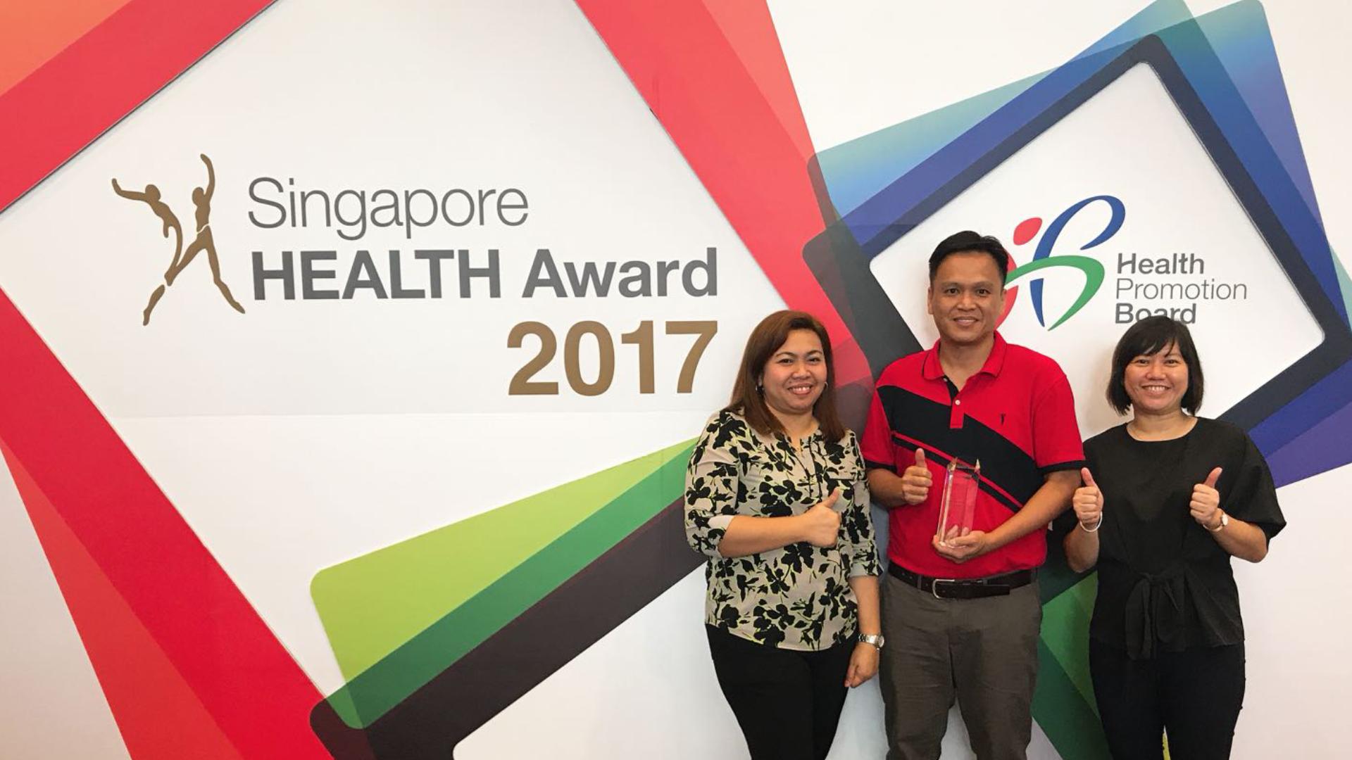 General Filter Pte Ltd Duplex Fuel Mann Hummel Health Promotion Award 2017